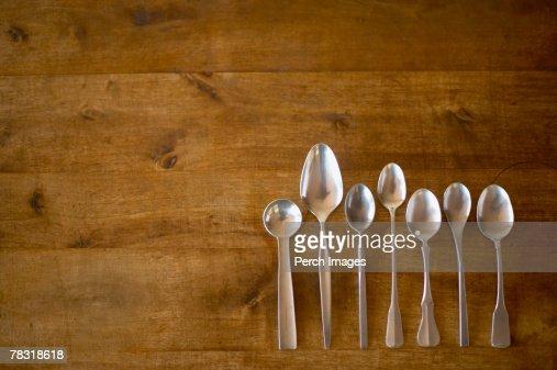 Spoons : Stock Photo