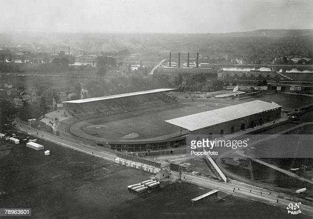 Sport 1924 Olympic Games in Paris The Colombes Stadium venue for the major events of the 1924 Olympic Games