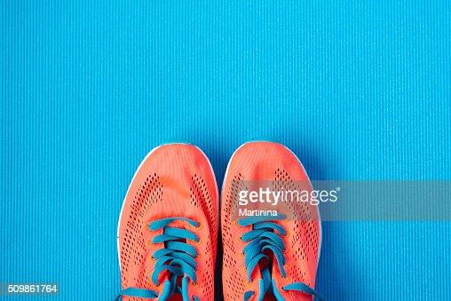 Desporto e aptidão conceito de estilo de vida de fundo : Foto de stock