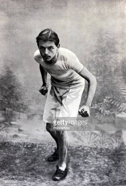 Sport Athletics 1900 Olympic Games Paris France Mens Marathon Georges TouquetDaunis who led the for at least half the race before dropping out