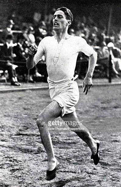 Sport Athletics 1924 Olympic Games Paris France Douglas Lowe Great Britain winner of the Gold medal in the Mens 800 metres