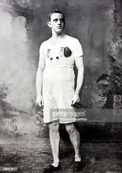 Sport Athletics CABradley from Huddersfield Yorkshire who won the AAA100 yards championship 4 times and held the 100 yards record at 10 seconds dead