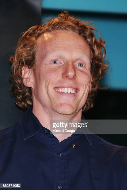 Sport Australia Hall of Fame inductee and legend polevaulter Steve Hooker poses at the National Sport museum before the Annual Induction and Awards...