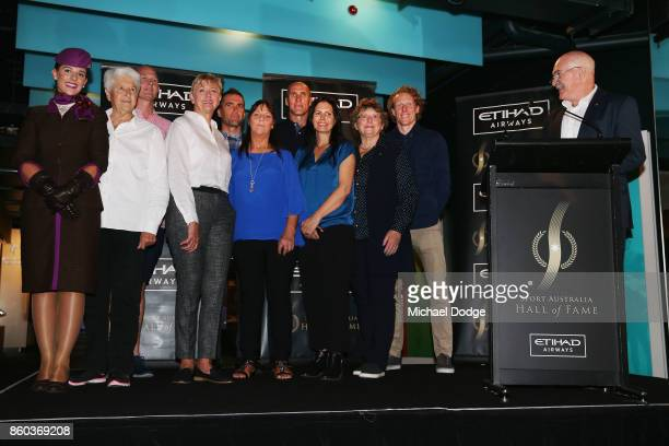 Sport Australia Hall of Fame Inductees Cyclist Brad McGee Water polo pioneer Debbie Handley Cummins pole vaulter Steve Hooker Taekwondoe gold...