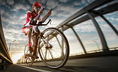 Sport backgrounds. Bicycle