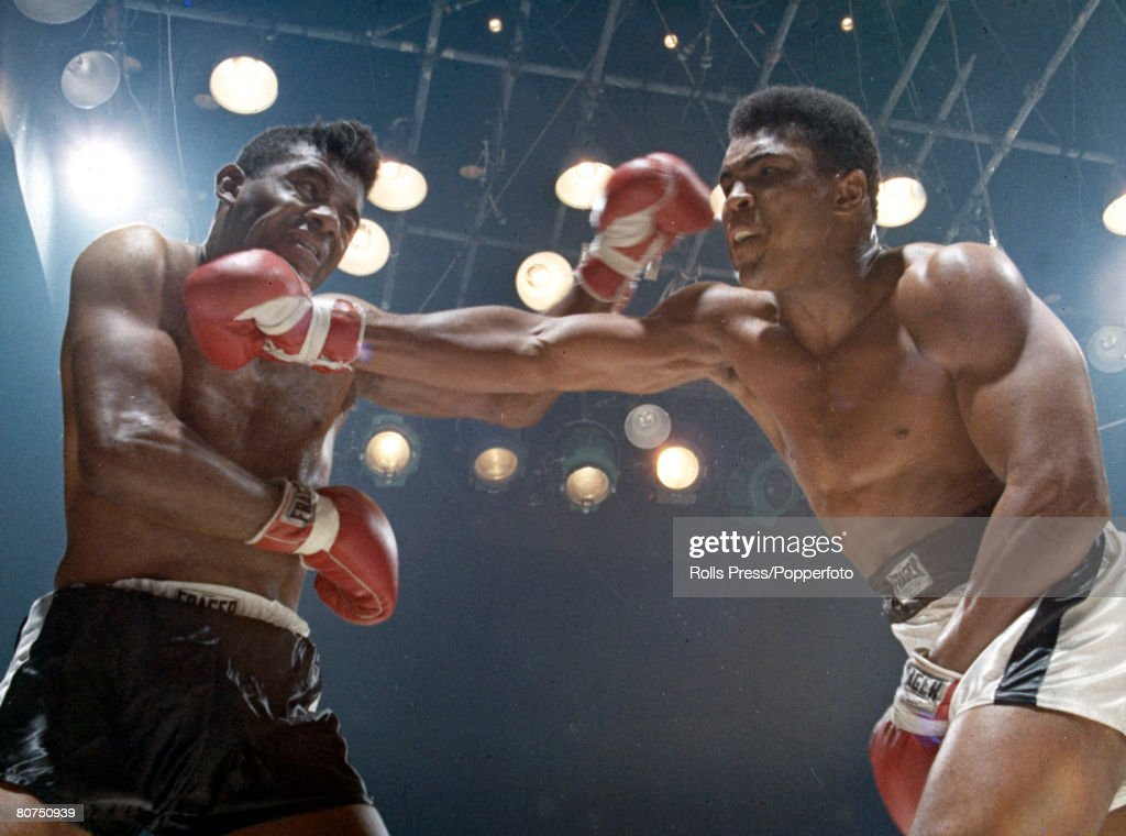 Sport Boxing 23rd November 1965 World Heavyweight Championship Las Vegas USA Muhammad Ali on his way to defeating Floyd Patterson for the title