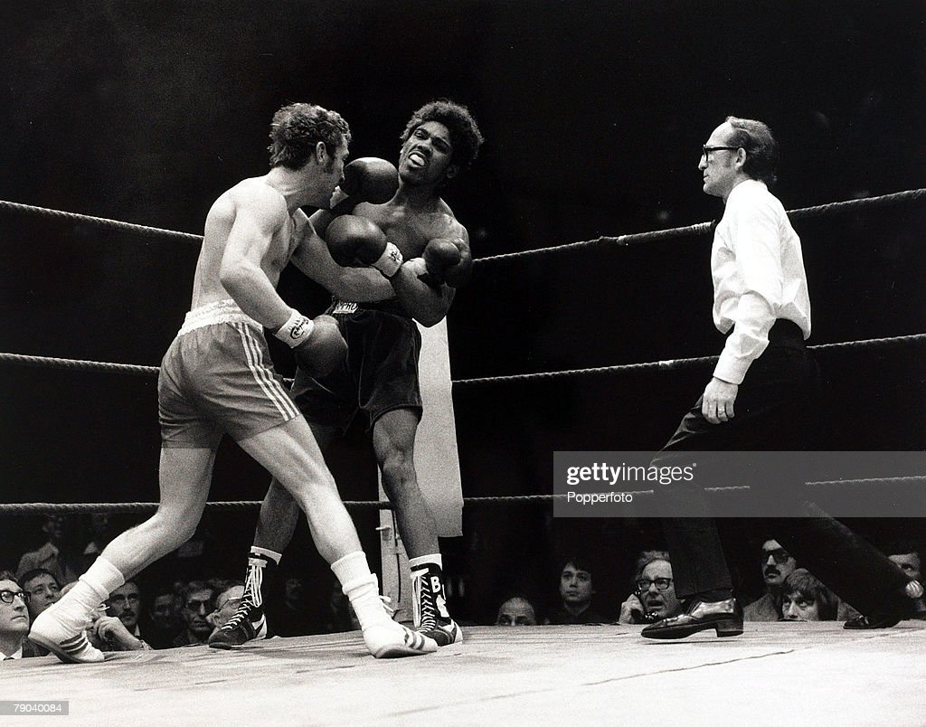 Sport Boxing London England 28th April 1976 British