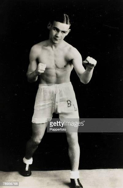 circa 1936 Benny Lynch Great Britain the World Flyweight Champion 19351938