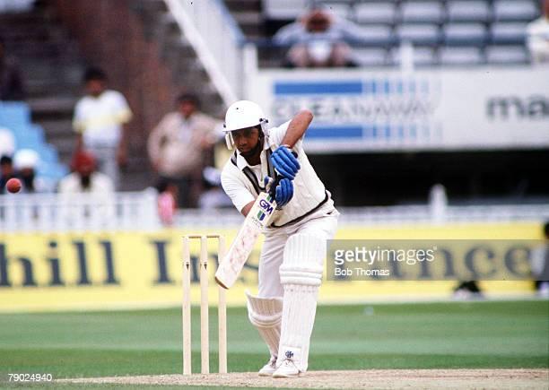 Sport Cricket 1980's England India's Mohinder Amarnath