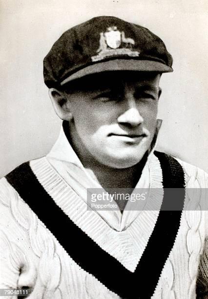 Sport Cricket Cigarette card Circa 1938 Donald 'Don' Bradman South Australia and Australia probably Australia's most famous cricketer of all time
