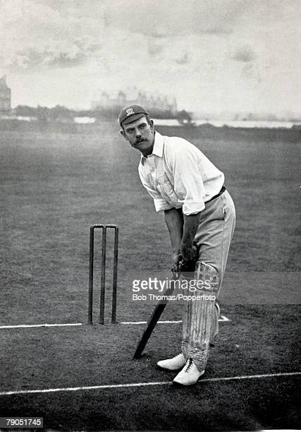 Sport Cricket Circa 1895 George Bean Sussex and England