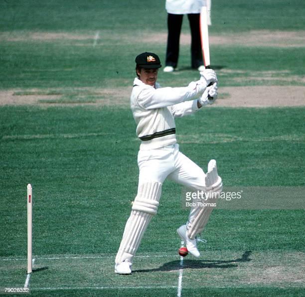 Sport Cricket Circa 1980's Australia's Greg Chappell