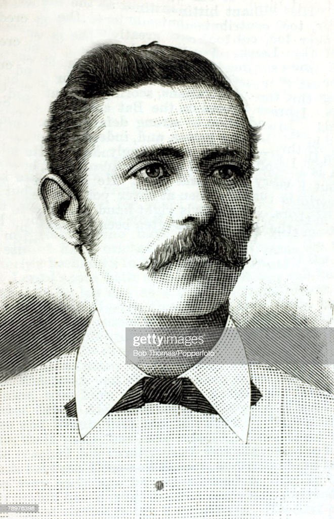 1880's, Frank Hearne, (1858-1949) who played for Kent 1879-1889 and in 2 matches for England 1888-1889, Frank Hearne was part of the famous Hearne cricketing family