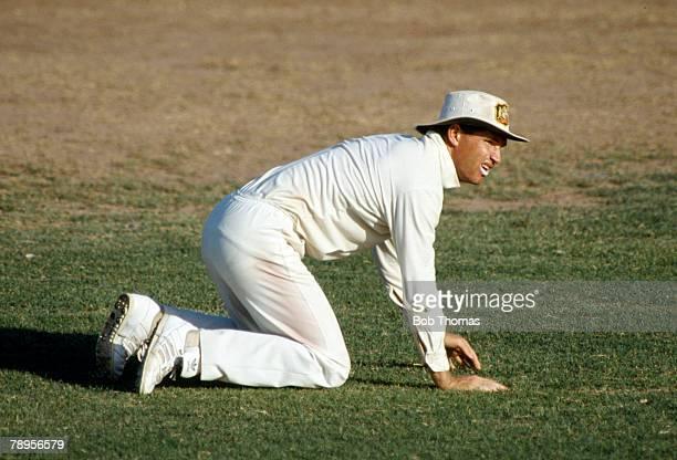 1991 Test Match West Indies v Australia at Sabina Park Kingston Jamaica Dean Jones Australia Dean Jones a stylish right hand batsman played for...