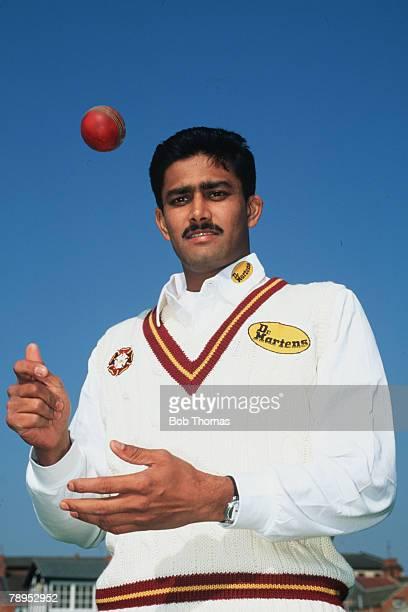 1995 Anil Kumble Northamptonshire and India