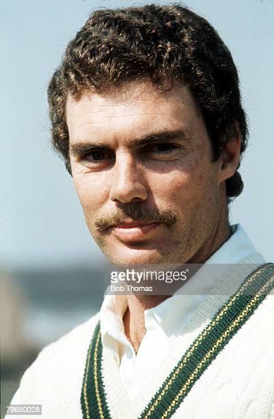 circa 1970's Greg Chappell Australia test batsman who played Test cricket 19701984