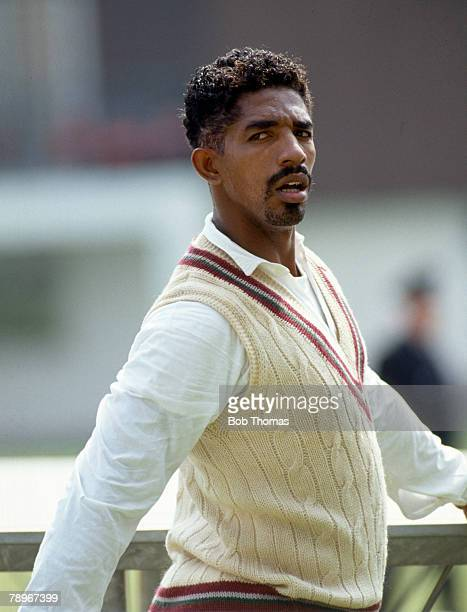 circa 1990 Phil Simmons West Indies who played in 26 Test matches from the West Indies between 19881997