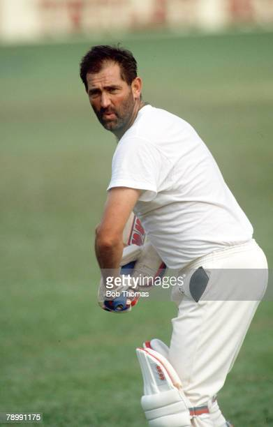 February 1990 Kingston Jamaica Graham Gooch England Graham Gooch played Test cricket for England 19751995 in 118 matches and county cricket for Essex