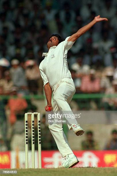 February 1993 2nd Test Match in Madras India beat England by an innings and 22 runs Kapil Dev India in his delivery stride Kapil Dev was the first...