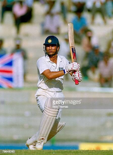 February 1993 2nd Test Match in Madras India beat England by Innings and 22 runs Sachin Tendulkar India