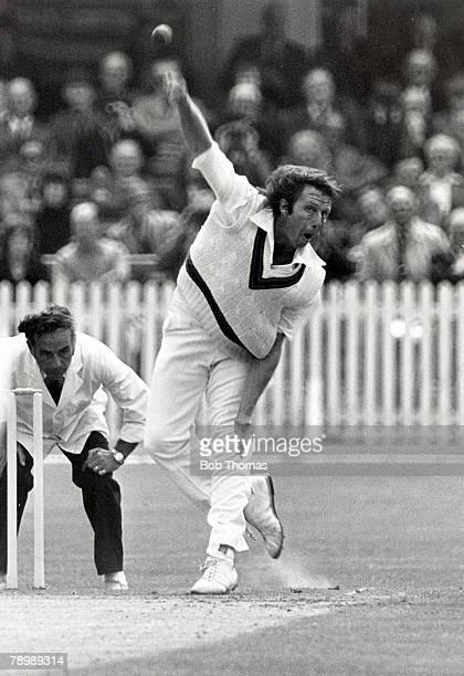 July 1977 3rd Test Match at Trent Bridge Nottingham England beat Australia by 7 wickets Jeff Thomson Australia Jeff Thomson who played Test cricket...