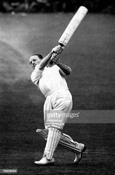 May 1948 Australia's Donald Bradman in action against Worcestershire Donald Bradman played in 52 Test matches for Australia between 19281948 and was...