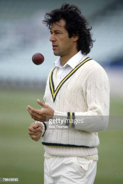 20th May 1987 Pakistan Nets Imran Khan Pakistan Imran Khan played in 88 Test matches for Pakistan between 19711992