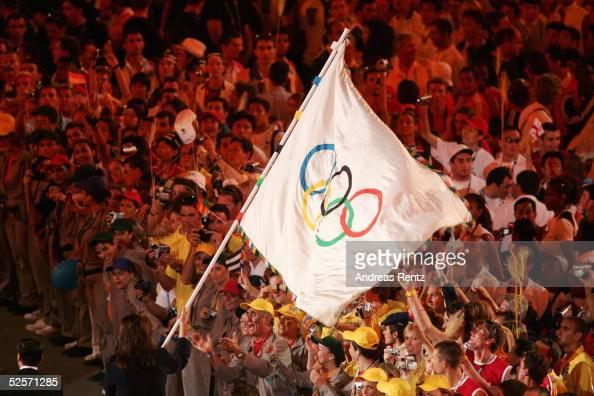 Sport / Diverses Olympische Spiele Athen 2004 Athen Abschlussfeier 290804