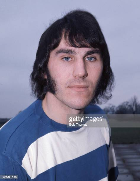 Sport Football 15th February 1973 Portrait of Gerry Francis of Queens Park Rangers
