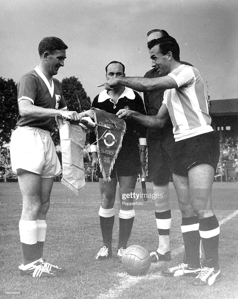 Sport Football 1958 World Cup Finals Halmstad Sweden 11th