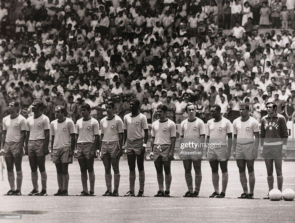 Sport Football 1970 World Cup Finals Guadalajara Mexico 14th