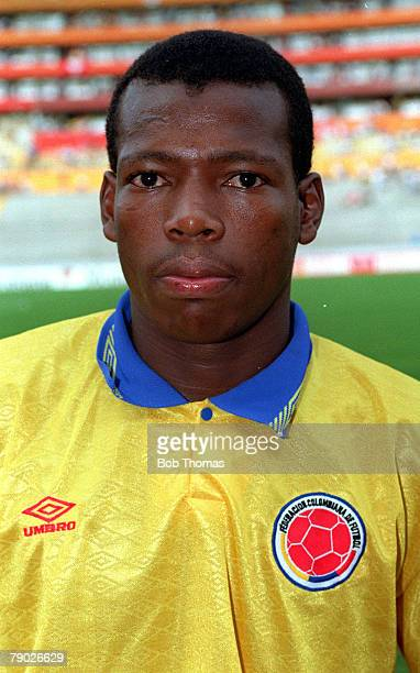 Sport Football 1990's Colombia's Faustino Asprilla
