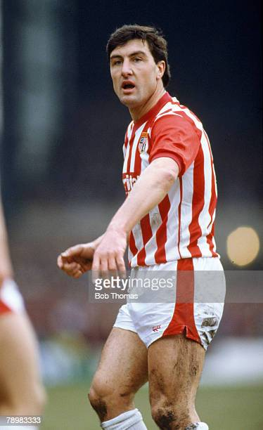 Sport Football 21st February 1987 FA Cup 5th Round Brian Talbot Stoke City