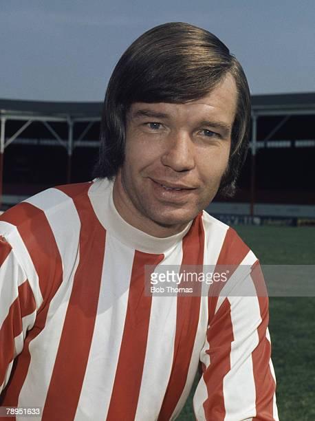 Sport Football 25th August 1972 Portrait of Alex Elder of Stoke City