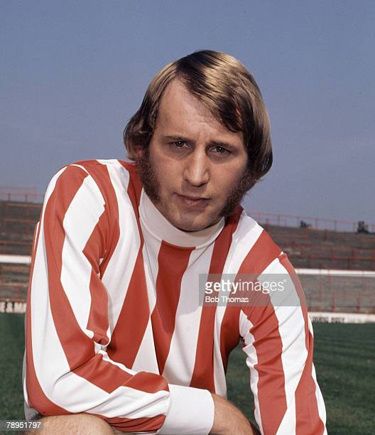 Sport Football 25th August 1972 Portrait of Denis Smith of Stoke City