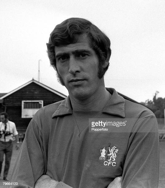 Sport Football 5th August 1970 Chelsea FC goalkeeper Peter Bonetti