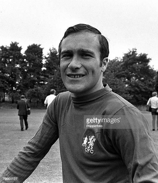 Sport Football 5th August 1970 Chelsea FC's captain Ron Harris