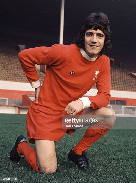 Sport Football 5th October 1973 Portrait of Kevin Keegan of Liverpool