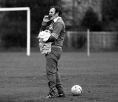 Sport Football 7th February 1977 England Manager Don Revie is pictured at a training session