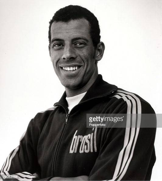 Sport Football A portrait of Brazil captain Carlos Alberto the leader of the 1970 Brazil World Cup winning team