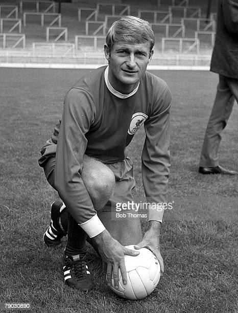 Sport Football Anfield England July 1968 Liverpool FC's Roger Hunt