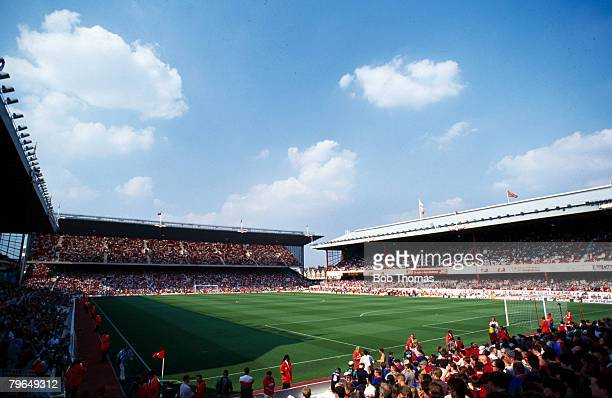 20th August 1995 Arsenal's Highbury Stadium for the Arsenal v Middlesbrough Premiership game