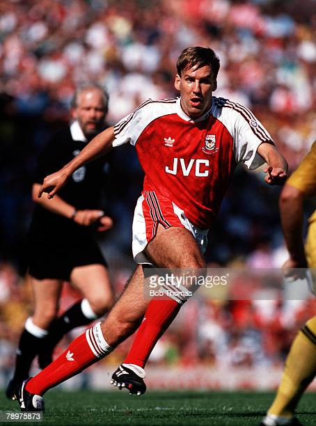Sport Football August Paul Merson of Arsenal