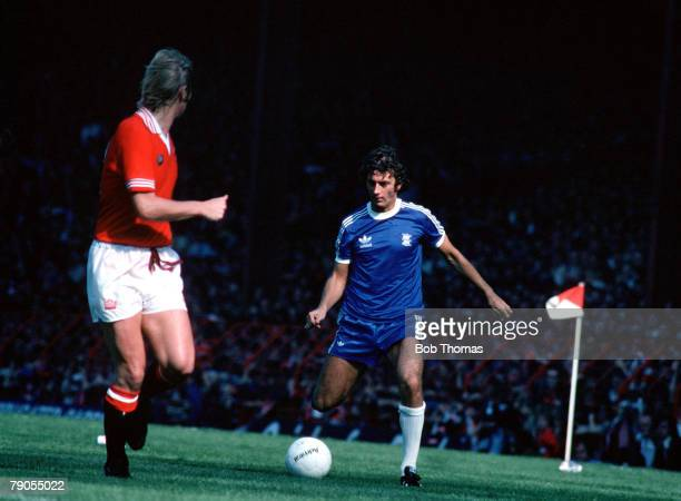 Sport Football Birmingham City v Man Utd Trevor Francis in action for Birmingham City 1978