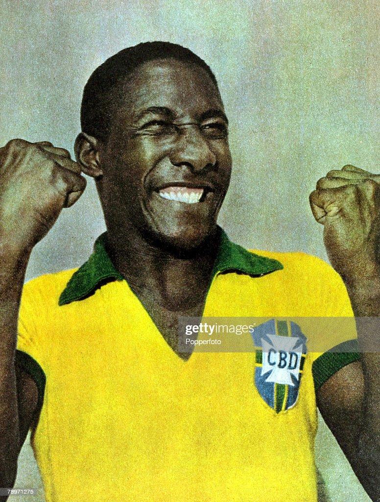 Sport Football 1962 Brazil defender Djalma Santos a stalwart of