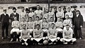 Sport Football circa 1905 The Chelsea FC team pose together for a group photograph Back row LR JTRobertson HAKeare Byrne FWParker McRoberts William...