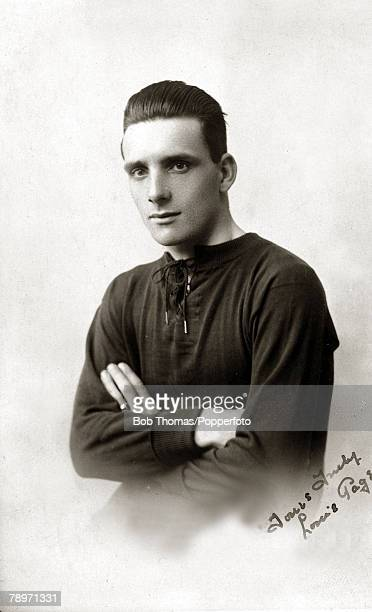 Sport Football circa 1924 Louis Page Northampton Town a double international at football and baseball He also played for Stoke City Burnley...