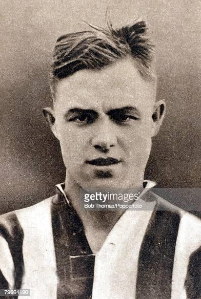 Sport Football Circa 1937 Frederick Steele Stoke City and England