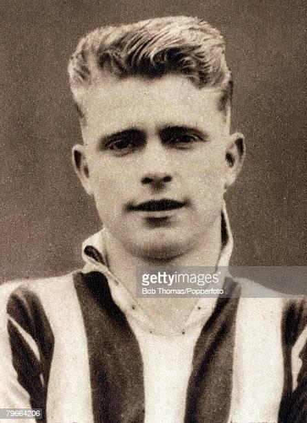 Sport Football Circa 1937 Peter Doherty Manchester City and Ireland