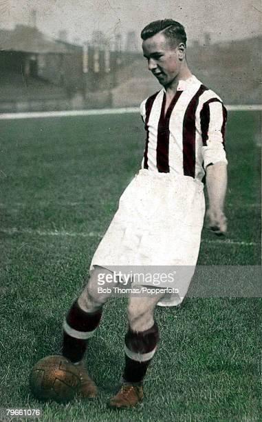 Sport Football circa 1948 Neil Franklin portrait Stoke City and England